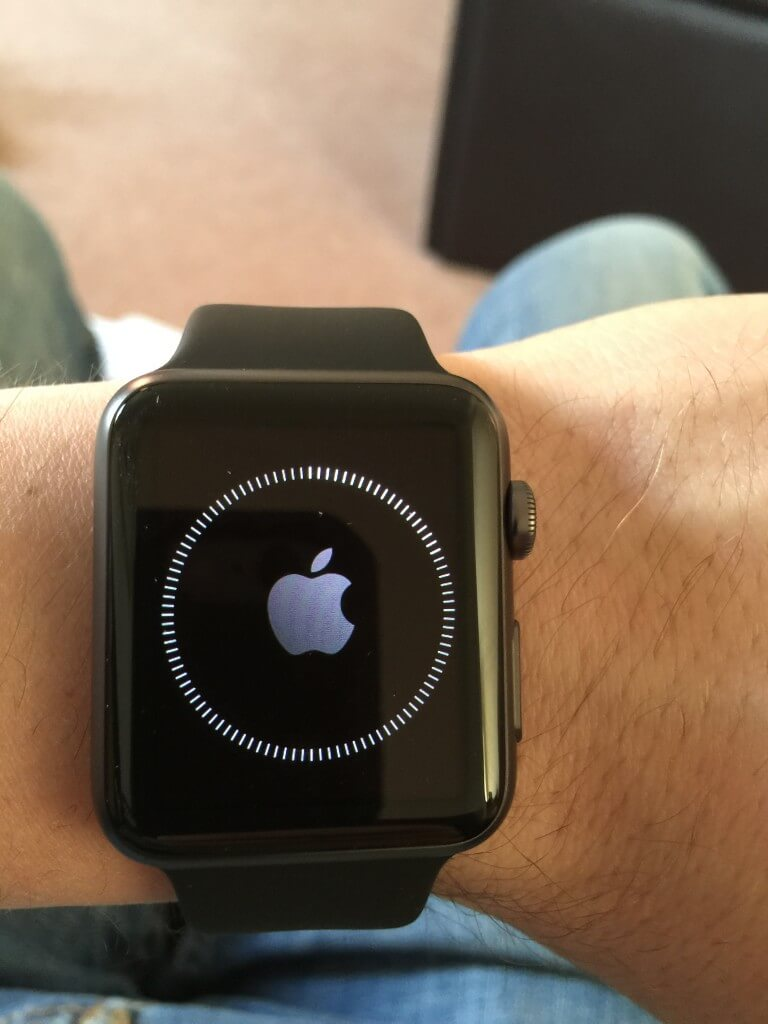 Apple Watch Set-up Progress bar